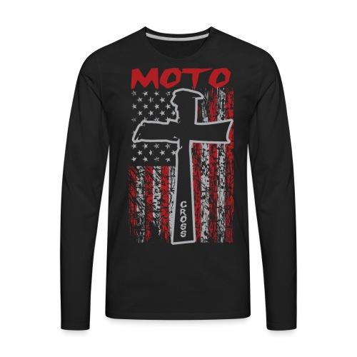 Motocross Christian - Men's Premium Long Sleeve T-Shirt