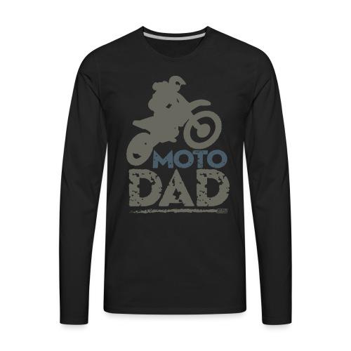 Dirt Bike Dad - Men's Premium Long Sleeve T-Shirt