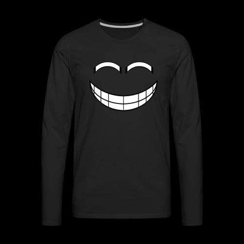 Empty Grin - Men's Premium Long Sleeve T-Shirt