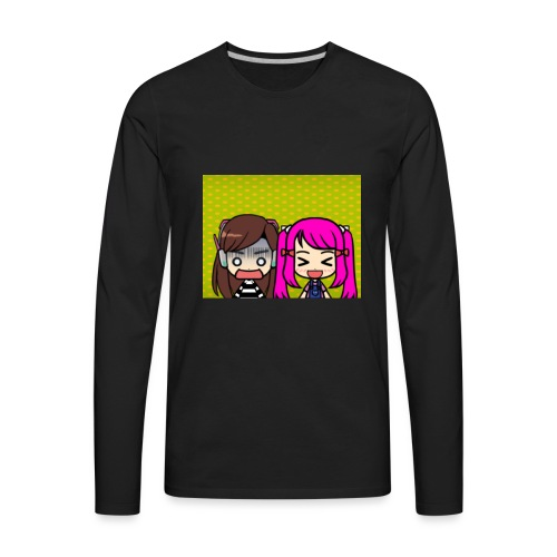 Phone case merch of jazzy and raven - Men's Premium Long Sleeve T-Shirt