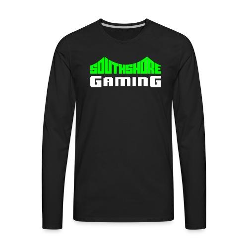 SSG Logo Color White - Men's Premium Long Sleeve T-Shirt