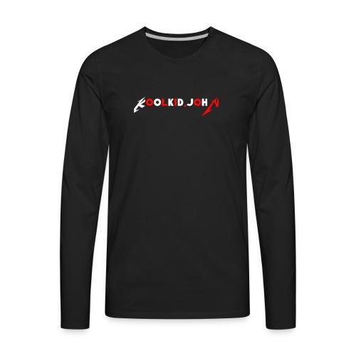 Koolkid.john merch - Men's Premium Long Sleeve T-Shirt