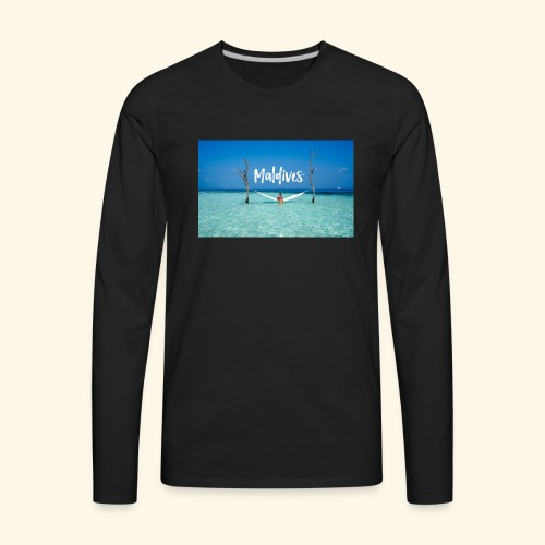 Maldives - Men's Premium Long Sleeve T-Shirt