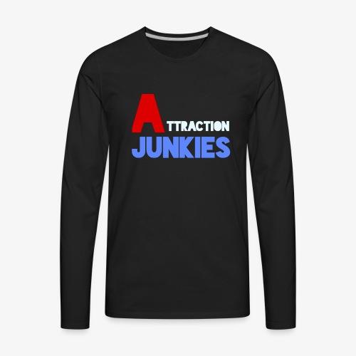 Attraction Junkies Merch - Men's Premium Long Sleeve T-Shirt