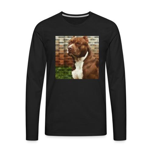 Pitbull- Faith Thread - Men's Premium Long Sleeve T-Shirt