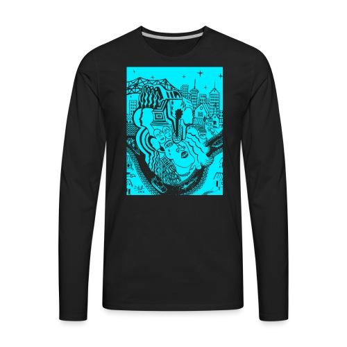 Louisiana River Nights - Men's Premium Long Sleeve T-Shirt