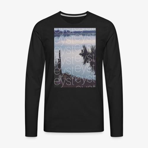 PBFB throwback - Men's Premium Long Sleeve T-Shirt