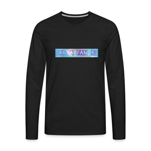 Canna fams #3 design - Men's Premium Long Sleeve T-Shirt
