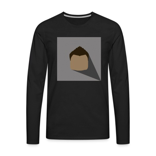 Logo Only - Men's Premium Long Sleeve T-Shirt