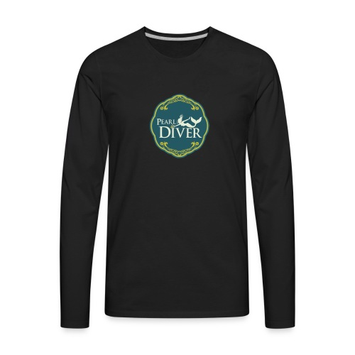 Pearl Diver Swag - Men's Premium Long Sleeve T-Shirt
