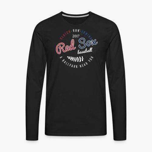 Clutch-Run-Inning Tee shirt - Men's Premium Long Sleeve T-Shirt