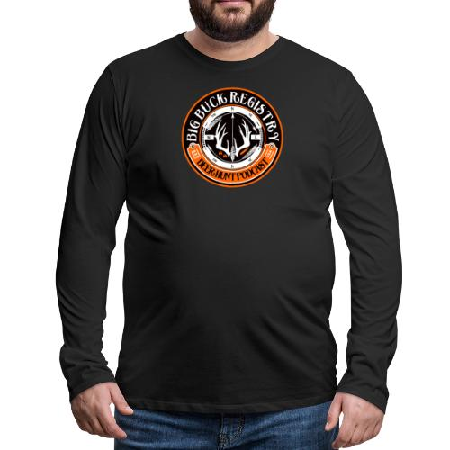 Big Buck Registry Deer Hunt Podcast - Men's Premium Long Sleeve T-Shirt