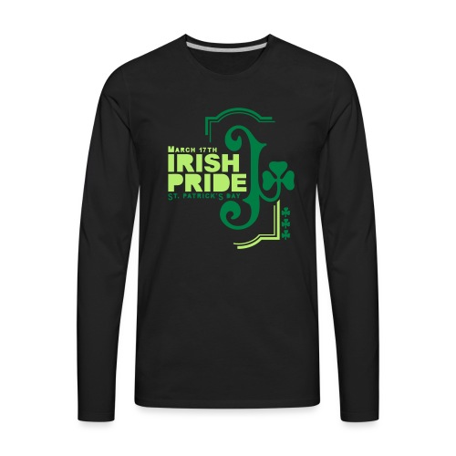 IRISH PRIDE - Men's Premium Long Sleeve T-Shirt