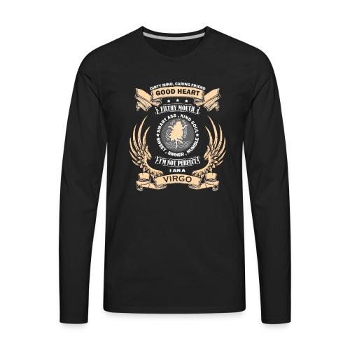 Zodiac Sign - Virgo - Men's Premium Long Sleeve T-Shirt