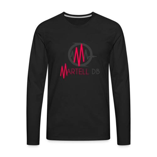 Martell DB primary logo - Men's Premium Long Sleeve T-Shirt