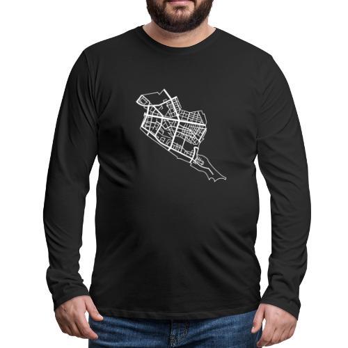 Friedrichshain Berlin - Men's Premium Long Sleeve T-Shirt