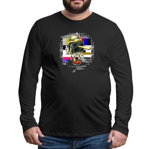 Piglotzio extended - Men's Premium Long Sleeve T-Shirt