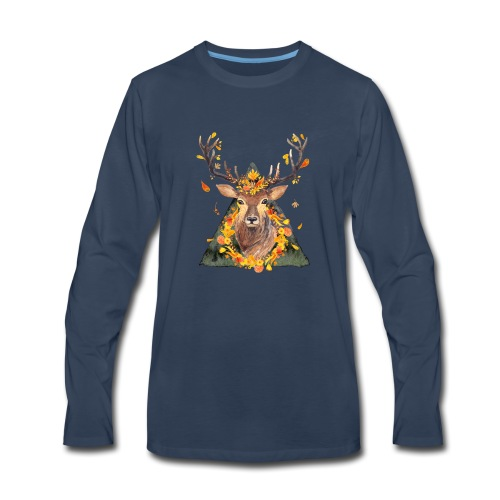 The Spirit of the Forest - Men's Premium Long Sleeve T-Shirt