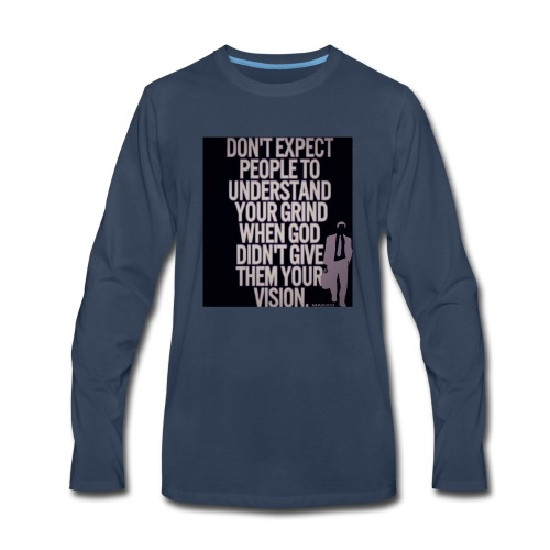 HUSTLE 10 - Men's Premium Long Sleeve T-Shirt