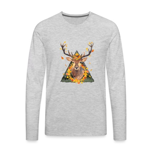 The Spirit of the Forest - Men's Premium Long Sleeve T-Shirt