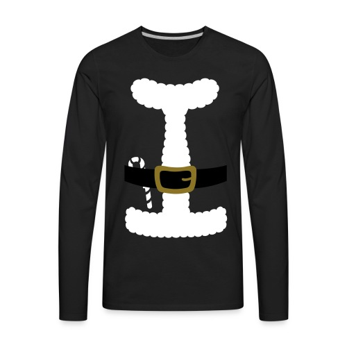 SANTA CLAUS SUIT - Men's Polo Shirt - Men's Premium Long Sleeve T-Shirt