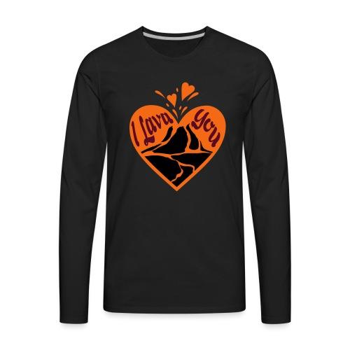 I Lava You - Men's Premium Long Sleeve T-Shirt