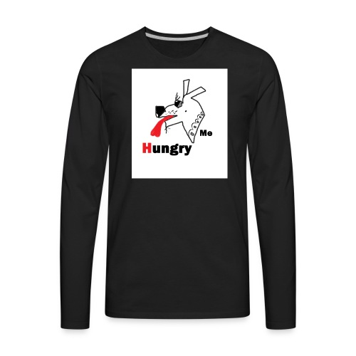 Hungry Me - Men's Premium Long Sleeve T-Shirt