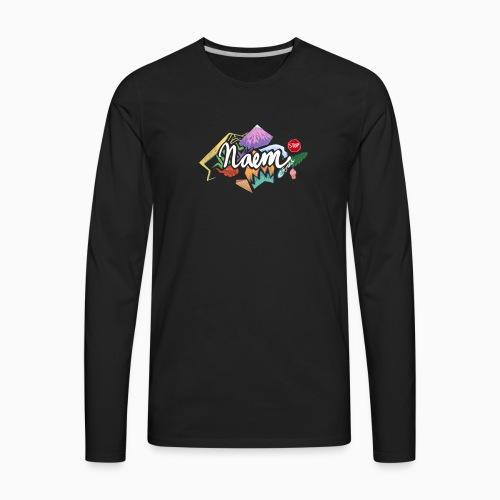 Naem 1.0 - Men's Premium Long Sleeve T-Shirt