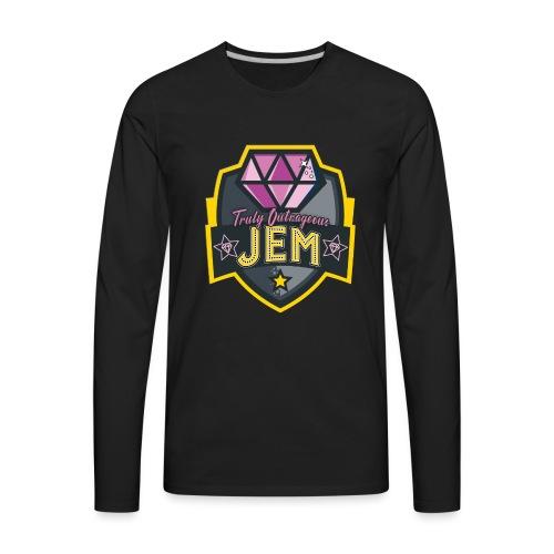 Truly Outrageous Jem - Men's Premium Long Sleeve T-Shirt