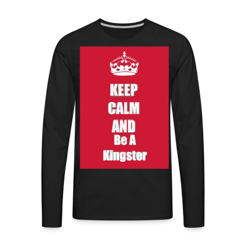 Kingjerry Merch - Men's Premium Long Sleeve T-Shirt