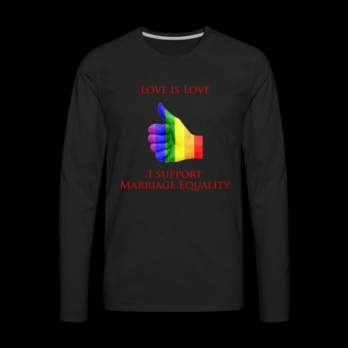 Love is Love 2 - Men's Premium Long Sleeve T-Shirt