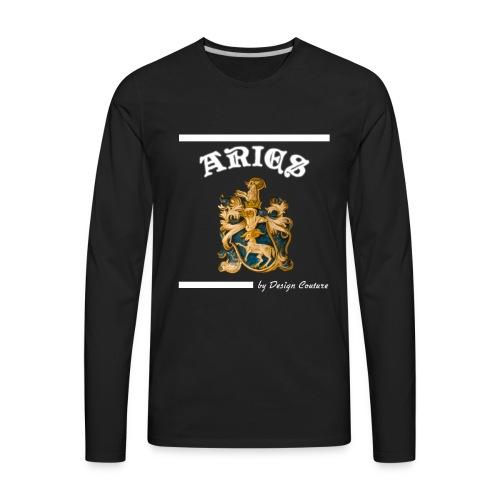 ARIES WHITE - Men's Premium Long Sleeve T-Shirt