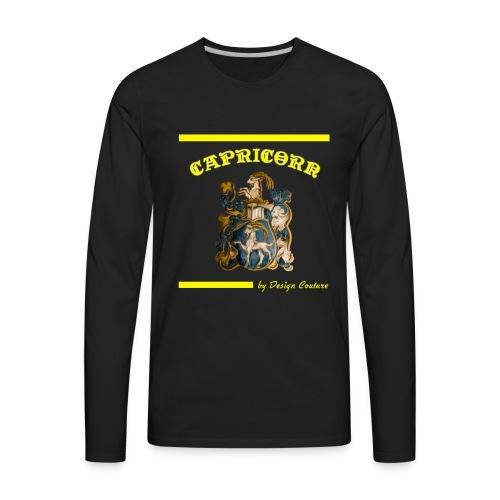 CAPRICORN YELLOW - Men's Premium Long Sleeve T-Shirt