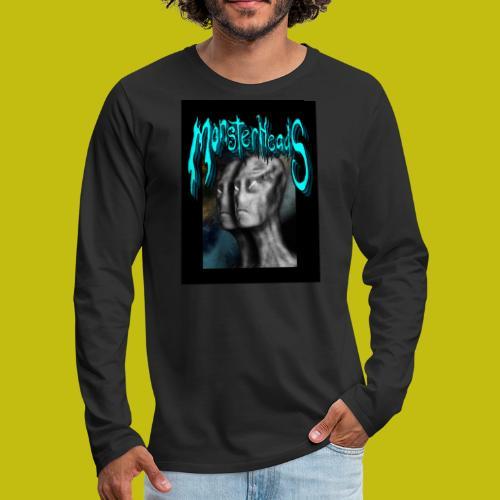 MonsterHeads ~ Grayman Aliens - Men's Premium Long Sleeve T-Shirt
