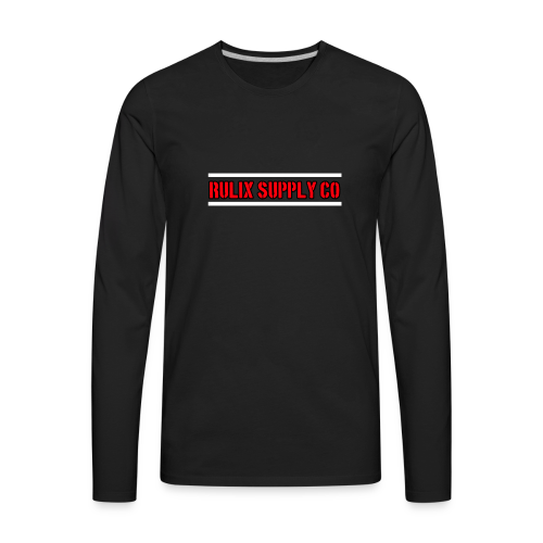 Rulix Red Badge - Men's Premium Long Sleeve T-Shirt