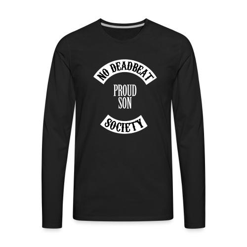 Proud Son Kids T-shirt - Men's Premium Long Sleeve T-Shirt