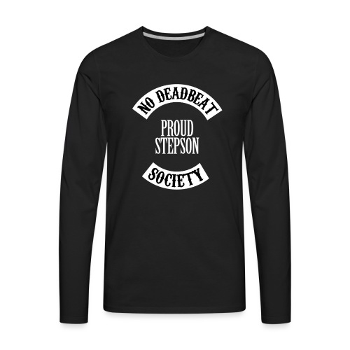 Proud Stepson T-shirt (Kids) - Men's Premium Long Sleeve T-Shirt
