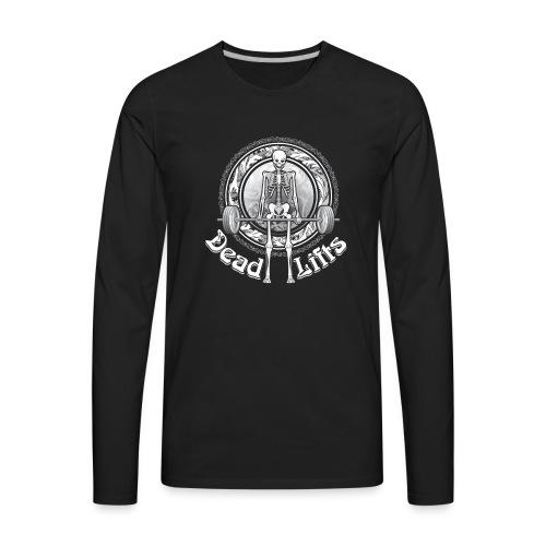 Exercise DeadLifts Strong - Men's Premium Long Sleeve T-Shirt