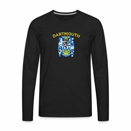 City of Dartmouth Coat of Arms - Men's Premium Long Sleeve T-Shirt