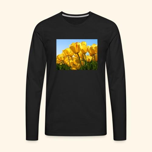Tulips - Men's Premium Long Sleeve T-Shirt