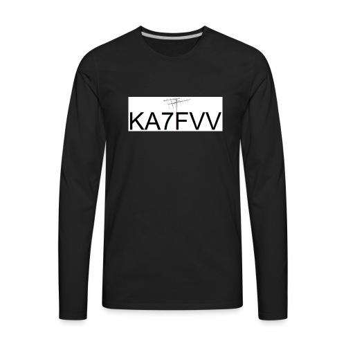 Call with Sat Antenna - Men's Premium Long Sleeve T-Shirt
