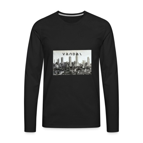 vandal ny - Men's Premium Long Sleeve T-Shirt