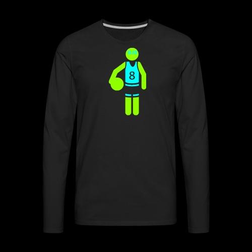 my amazing blab clothing logo - Men's Premium Long Sleeve T-Shirt