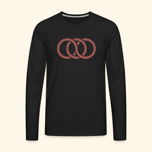 circle paradox - Men's Premium Long Sleeve T-Shirt