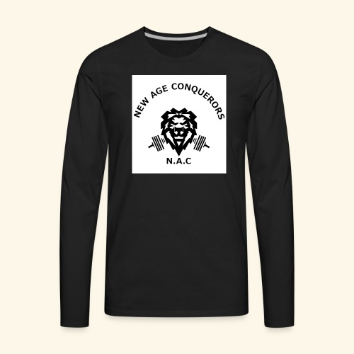NEW AGE CONQUERORS - Men's Premium Long Sleeve T-Shirt