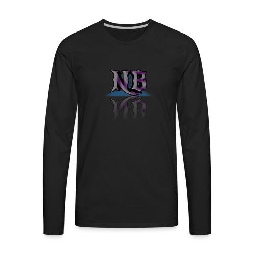NEWBorn Name tag - Men's Premium Long Sleeve T-Shirt