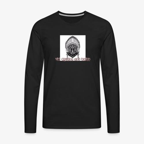 Vici iPhone case - Men's Premium Long Sleeve T-Shirt