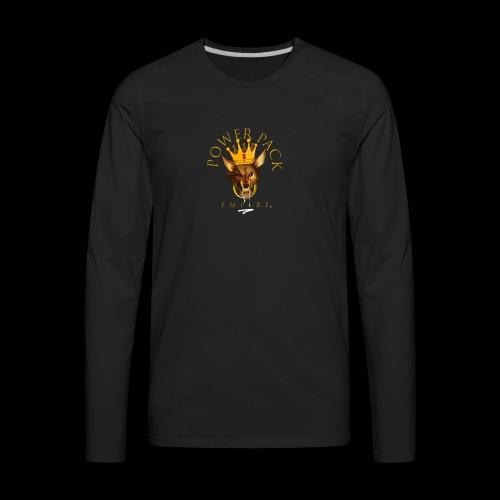 Power Pack Empire Official Logo - Men's Premium Long Sleeve T-Shirt