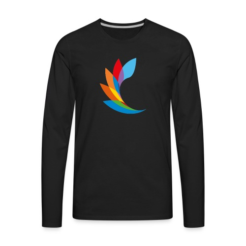 shirt color beautiful - Men's Premium Long Sleeve T-Shirt
