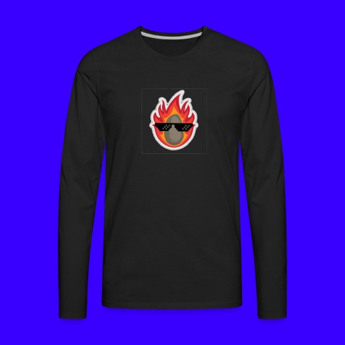 IBlazingPotato - Men's Premium Long Sleeve T-Shirt